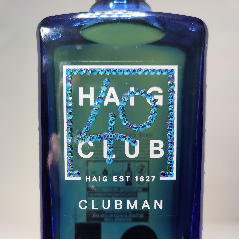 Custom Order Rhinestoned Whiskey Bottle