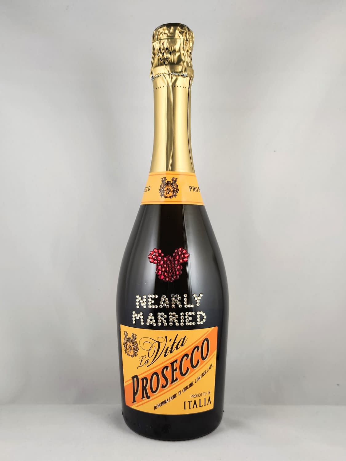 Sparkly prosecco bottle!