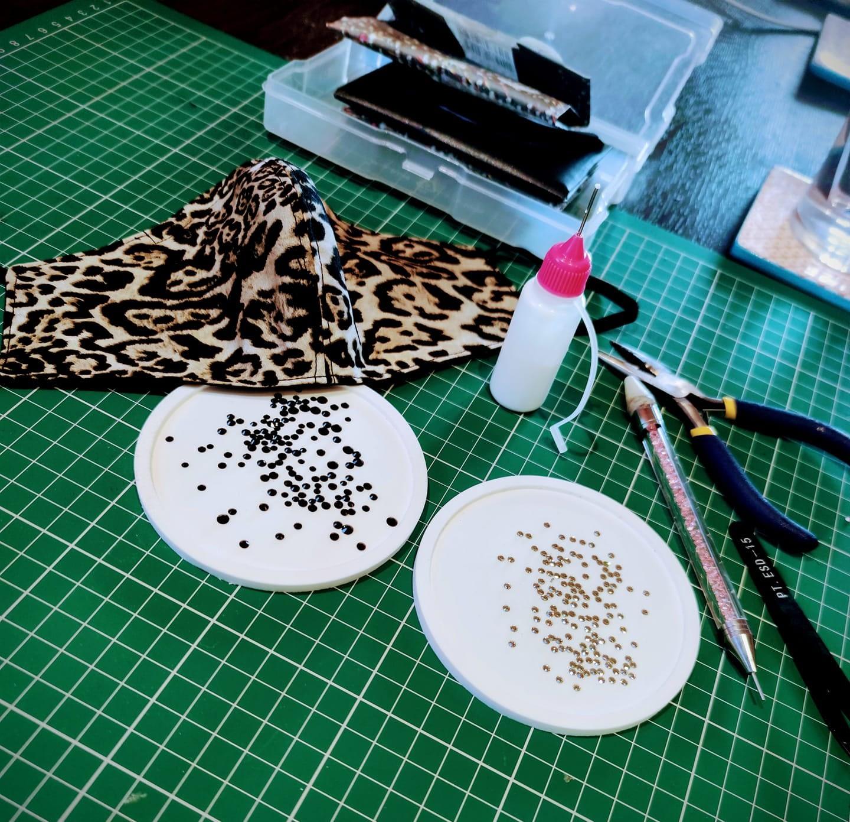 Leopard Mask WIP