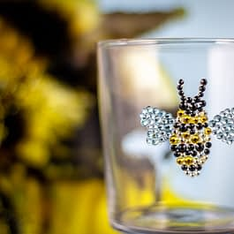 Bumble Bee Glass