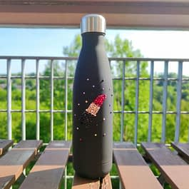 Lipstick Water Bottle