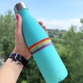 Pride Rainbow Water Bottle
