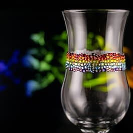 Pride Rainbow Glass