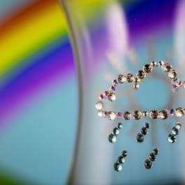 Sun and Rain Glass
