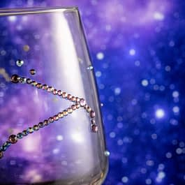 Sparkle Zodiac Glass