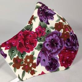 Floral Face Mask