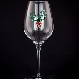 Holly Leaf Glass