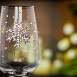Snowflake Glass