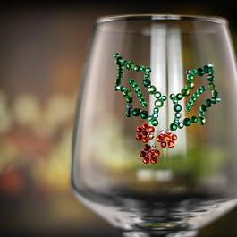 Holly Leaf Glass