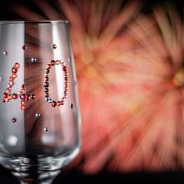 Milestone Anniversary Glass
