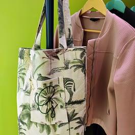 Personalised Safari Tote Bag