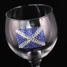 Scottish Flag Glass