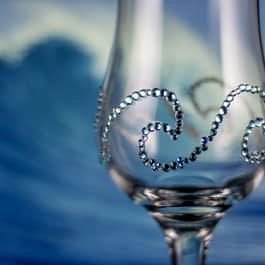 Ocean Wave Glass