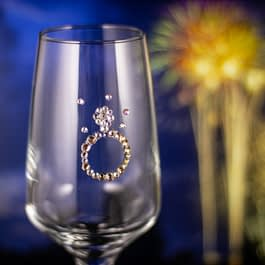 Engagement Ring Glass