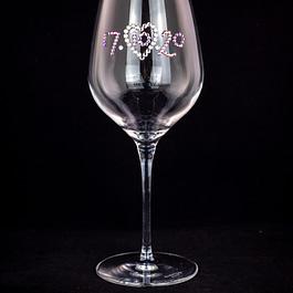 Wedding Date Glass