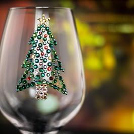 Christmas Tree Glass