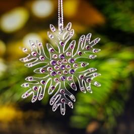 Snowflake Christmas Ornament