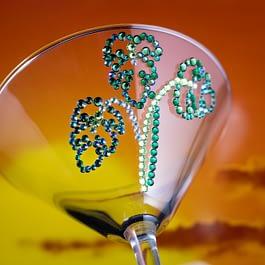 Monstera Leaf Glass