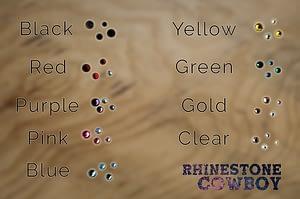 Rhinestone Colour Chart