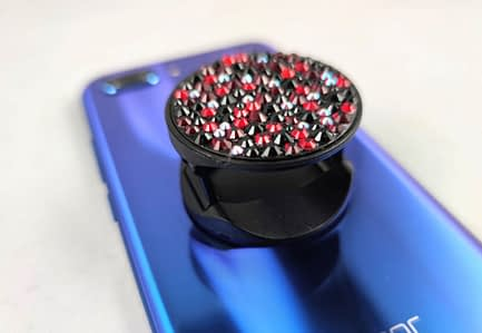 Black Covered Phone Pop