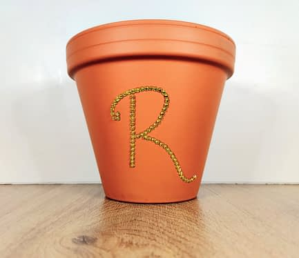 Personalised Initial Plant Pot
