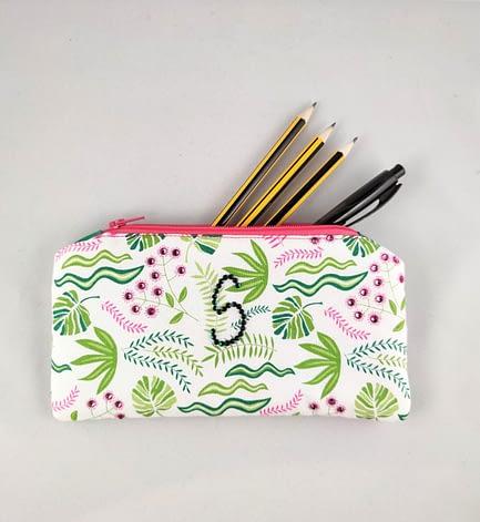 Custom Fabric Pencil Case