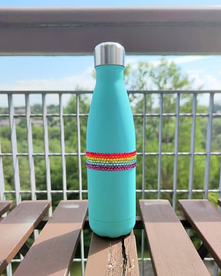 Pride Rainbow Water Bottle