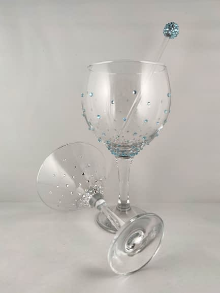 Scatter Crystal Glass