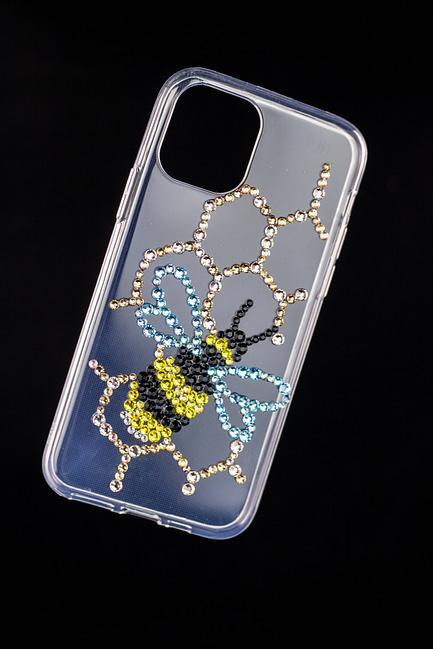 Rhinestone Bumble Bee Phone Case
