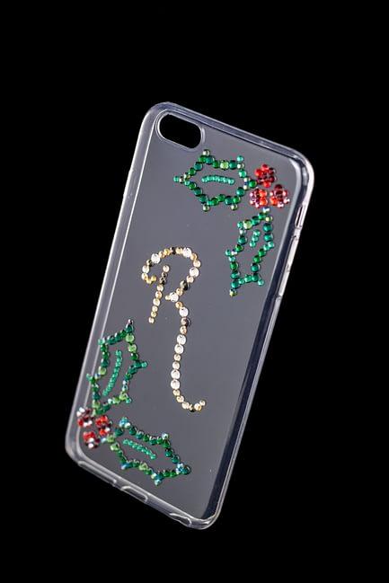 Custom Rhinestone Holly Phone Case